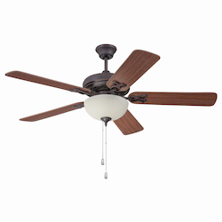 Oiled Bronze Ceiling Fan with Blades - 372228
