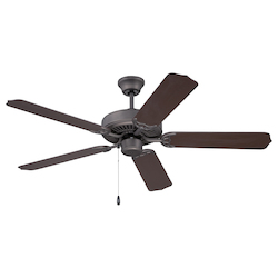 Ceiling Fan with Blades in Esspresso Finish - 372233