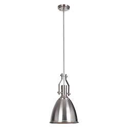 1 Light Mini Pendant with Metal Shade - 372278