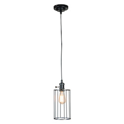1 Light Mini Pendant with Wire Cage - 372332