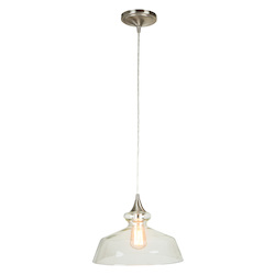 1 Light Mini Pendant with Glass Shade - 372338