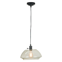 1 Light Mini Pendant Glass Shade - 372339
