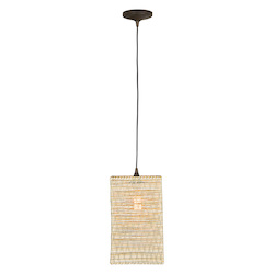 1 Light Mini Pendant with Paper String Cage - 372343