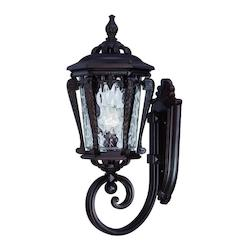 Stratford Collection Wall-Mount 1-Light Outdoor Architectural Bronze Light Fixtu