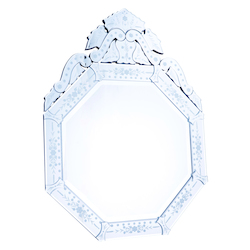 Clear Mirror 30in. Wide Mirror from the Venetian Collection