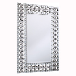 Clear Mirror 31in. Wide Mirror from the Modern Collection