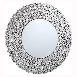 Clear Mirror 36in. Wide Mirror from the Modern Collection