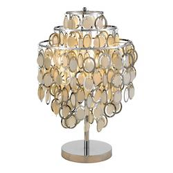 Shimmy Table Lamp in Chrome - 374269