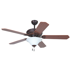 52In.; Ceiling Fan W/Bowl