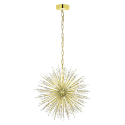 Gold Plated 26 3/4in. Wide 21 Light Pendant from the Vivaldo Collection