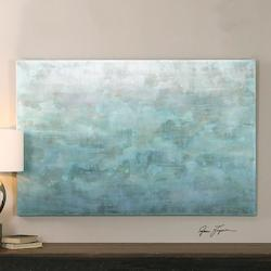 Multi-Colored Frosted Landscape Canvas Art Designed By Grace Feyock