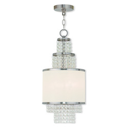 Brushed Nickel Prescott 2 Light 1 Tier Chandelier