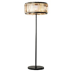 Welles 10 Light Golden Teak Round Chandelier Light Fixture in Java Brown Finish - Restoration Revolution 700144-002