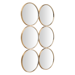 Gold Radeau Mirror - 380123
