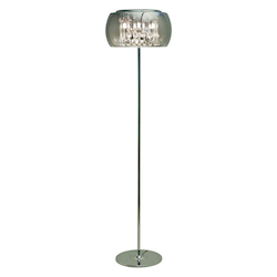 Chrome Alain Floor Lamp - 380371