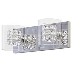 Clear Double Sconce Elsa Sconce - 380411