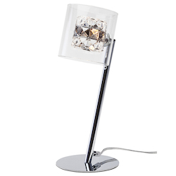 Smokey Elsa Table Lamp