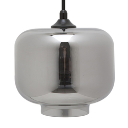 Smoked Grey Charles Pendant Lamp - 380454
