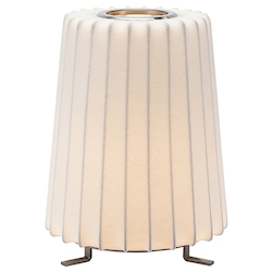 White Amilia Table Lamp