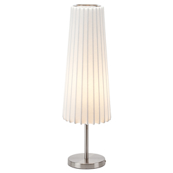 White Abby Table Lamp