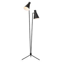 Black Thom Floor Lamp - 380537