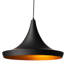 Matt Black|Gold Euclid Pendant Lamp - 380538