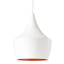 White Karl Pendant Lamp - 380541