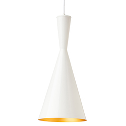 Gloss White Lue Pendant Lamp - 380543