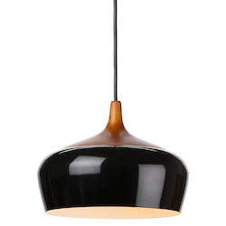 Black Liam Pendant Lamp - 380547