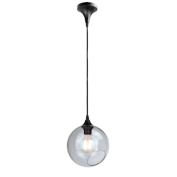 Clear Small Sphere Pendant Lamp - 380650