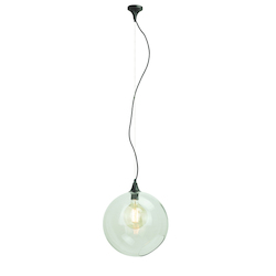 Clear Large Sphere Pendant Lamp - 380653