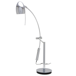 Chrome Bullet Table Lamp
