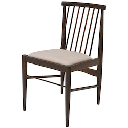 Seared Oak Cyrise Dining Chair - 380771