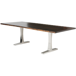 Seared Oak Toulouse Dining Table