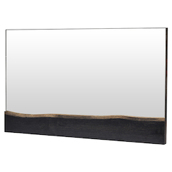 Ebonized Oak Dominic Mirror - 380847