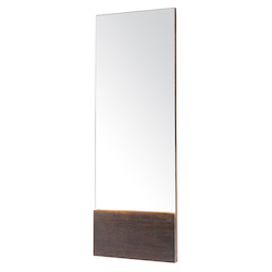 Seared Oak Dominic Mirror - 380851