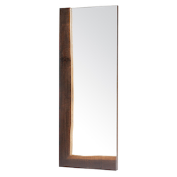 Seared Oak Ezra Mirror - 380852