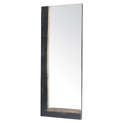 Ebonized Oak Ezra Mirror - 380853