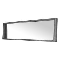 Ebonized Oak Silas Mirror - 380868