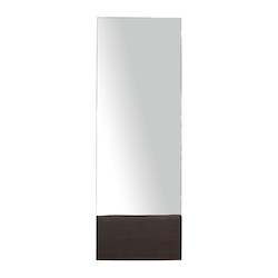 Ebonized Oak Dominic Mirror - 380869