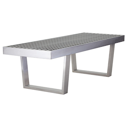 Polished Zoey Bench