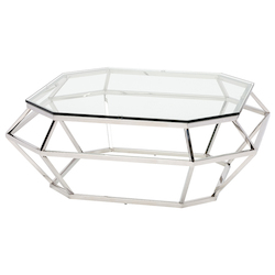Clear Diamond Coffee Table - 380962