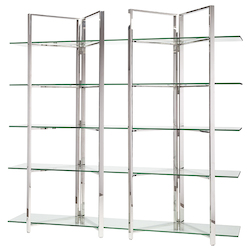 Clear Elton Shelving Unit - 380966