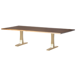 Gold Toulose Dining Table - 380970