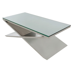 Stainless Prague Coffee Table - 381018