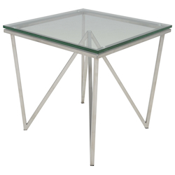 Silver Origami Side Table - 381033