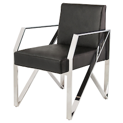 Black Jacqueline Dining Chair - 381111