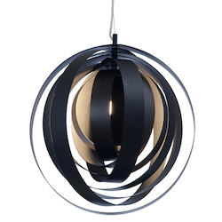 Black Orba Pendant Lamp - 381183