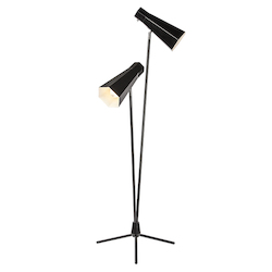 Black Lucy Floor Lamp - 381204