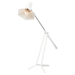 Matte White Penny Floor Lamp - 381205